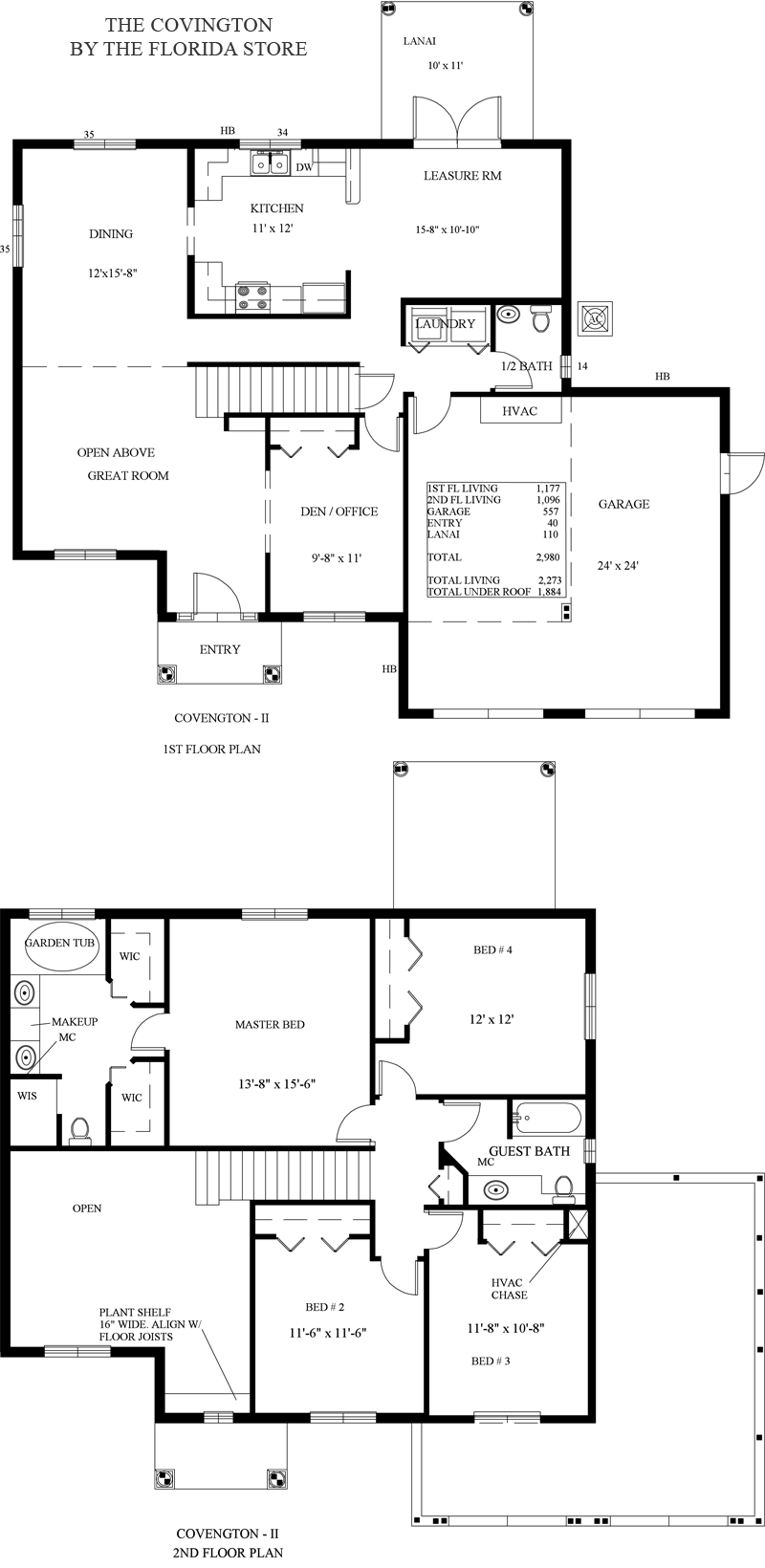 Model Floorplans The Florida Store Homesites Homes